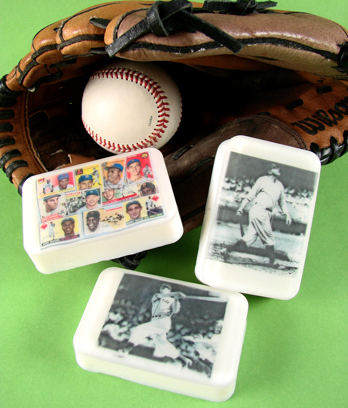 Vintage Baseball Soap Kit