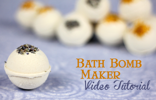 How to Use our Bath Bomb Maker