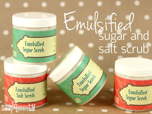 Emulsified Scrub video
